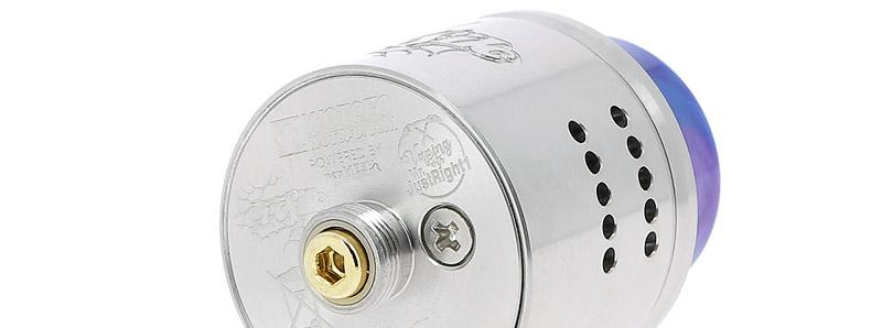El alimentador inferior Pin 510 del gotero Profile 1.5 de Wotofo