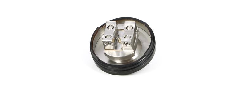 Le plateau double coil du dripper Z RDA par Geek Vape