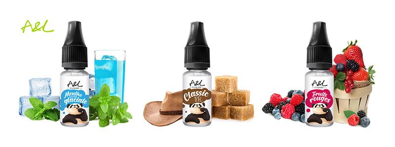 Les e-liquides du Pack de découverte Exceed D19