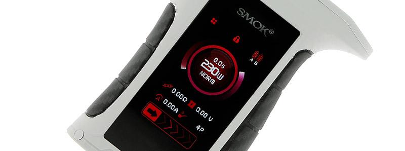 L'écran de la box Mag P3 par Smok