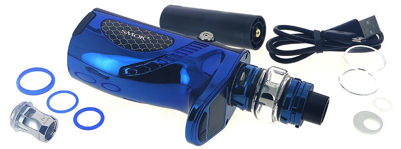 Le contenu de la boîte du kit Mag Grip par Smoktech
