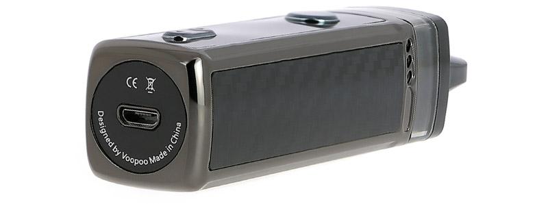 El puerto micro-USB del Pod Vinci 5.5ml de Voopoo