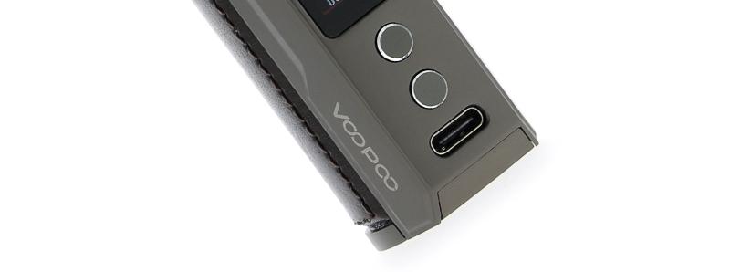 Le port USB-C du Pod Drag S par Voopoo