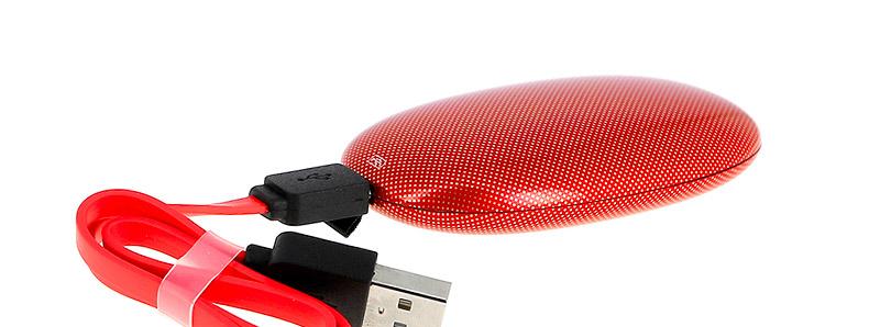 Le branchement du câble micro USB du pod Ion par OnCloud Vapor