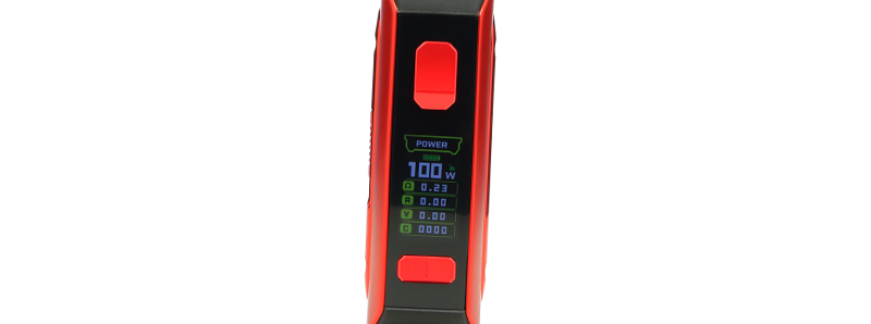 La pantalla del kit M100 Aegis Mini 2 de Geek Vape