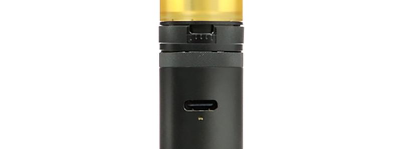 Le port USB-C du kit Siren G MTL Tube par Digiflavor