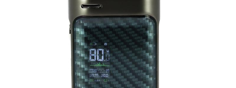 L'écran du kit Swag PX80 par Vaporesso