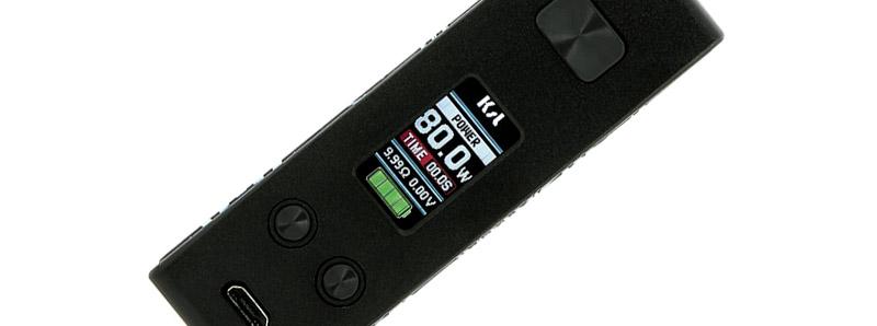 L'écran de la box G-Box 80W par KSL