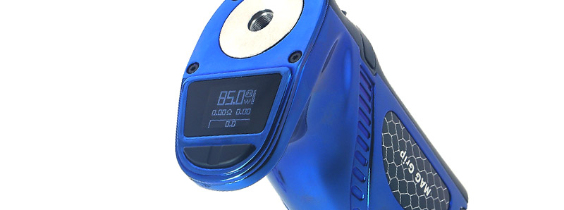 L'écran de la box Mag Grip par Smoktech
