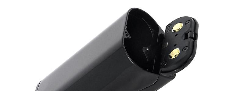 Le compartiment à accus de la box Manto X 228w par Rincoe