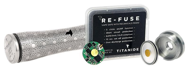 Le module Re-Fuse V2 livré avec le Mod Leto V2 par Titanide