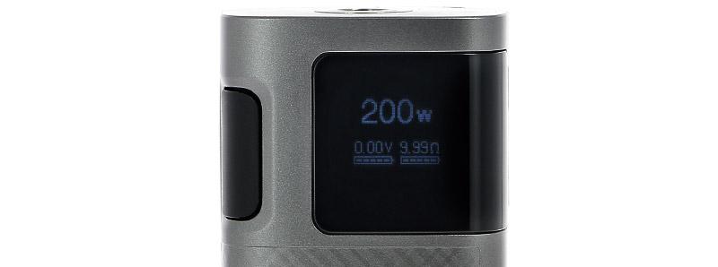 L'écran de la box Ripple 200w par Kangertech