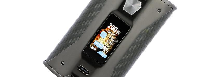 L'écran de la box SX Mini X Class par Yihi