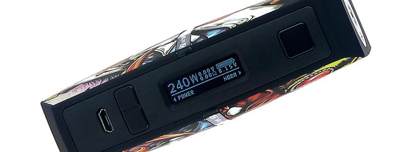 L'écran de la box VIA240 par VO Tech
