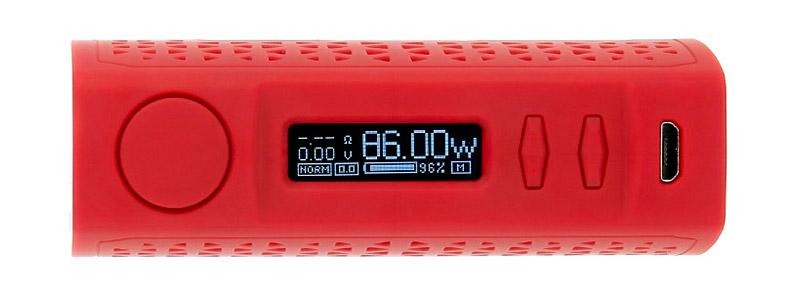 L'écran de la box WYE II 86w par Teslacigs
