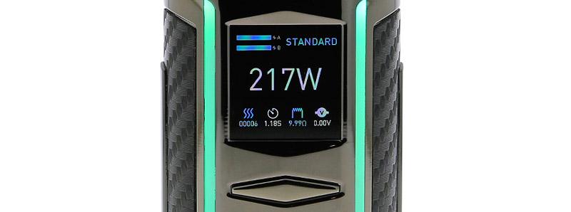 L'écran de la box X217 par Voopoo