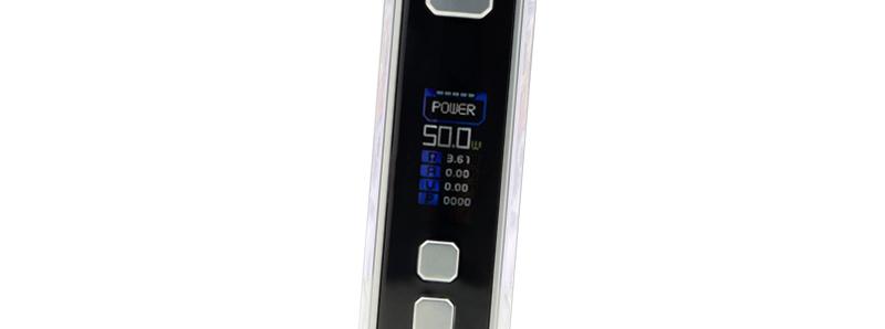 L'écran de la box Z50 par Geek Vape