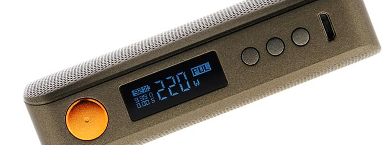 Le chipset de la box Gen S 220W par Vaporesso