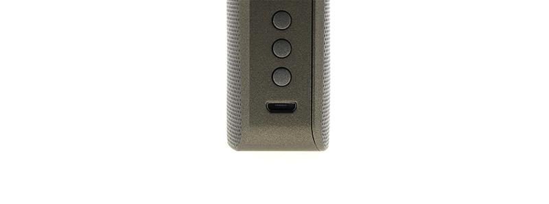 Le port de rechargement de la box Gen S 220W par Vaporesso