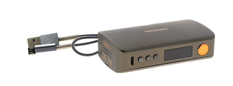 Le contenu de la boite de la box Gen S 220W par Vaporesso
