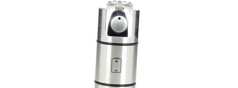 Le bouton power à LED de la box Hilt Mosfet par BP Mods