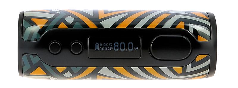L'écran de la box iStick Rim 80w par Eleaf