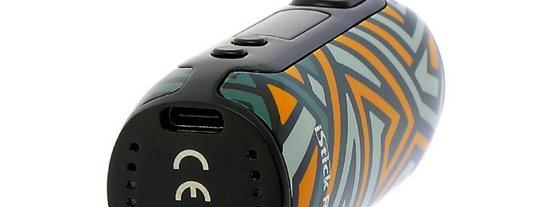 Le port USB-C de la box iStick Rim 80w par Eleaf