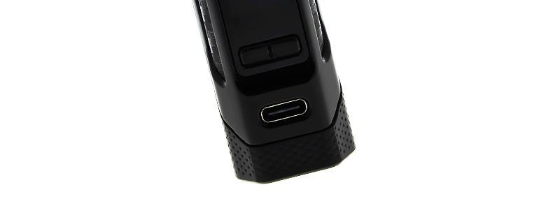 Le port USB-C de la box Rigel Mini 80w par Smok