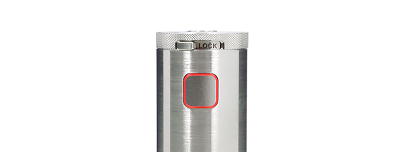 Le bouton switch et molette lock du mod Siren Tube par Digiflavor