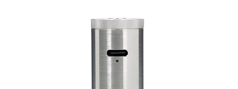 Le port USB-C du mod Siren Tube par Digiflavor