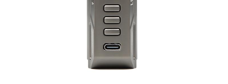 Le port micro USB-C de la box Thelema Quest 200W par Lost Vape