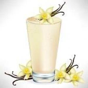 Milk shake Noix Vanille Banane