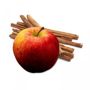 pomme cannelle crème anglaise