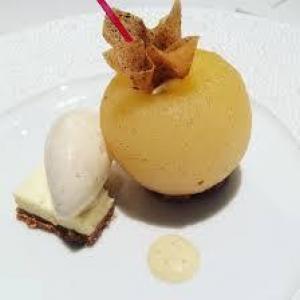 Pomme-confiture de lait-vanille