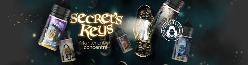 Aromes concentré Secret's Keys