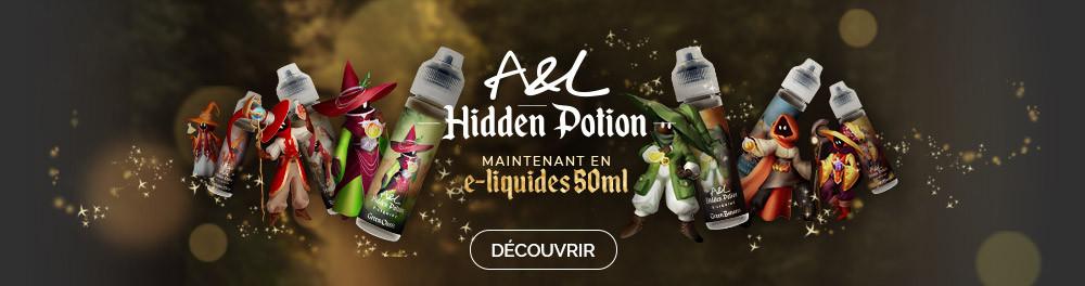 E-liquide Hidden Potion 50ml